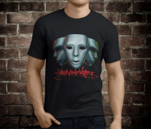 New Jabbawockeez Mask Men's Black T-Shirt Size S-2XL T-Shirt Fashiont Shirt Free Shipping