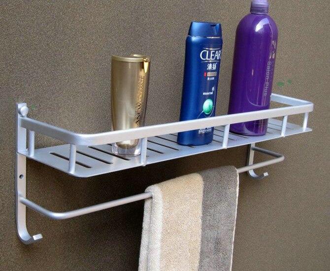 2017 Corner Bolt Inserting Type Chrome Dual Tier Real Toothbrush Holder Hot Sale Shelf Bracket Shelving Storage Rack Army 40 <br>