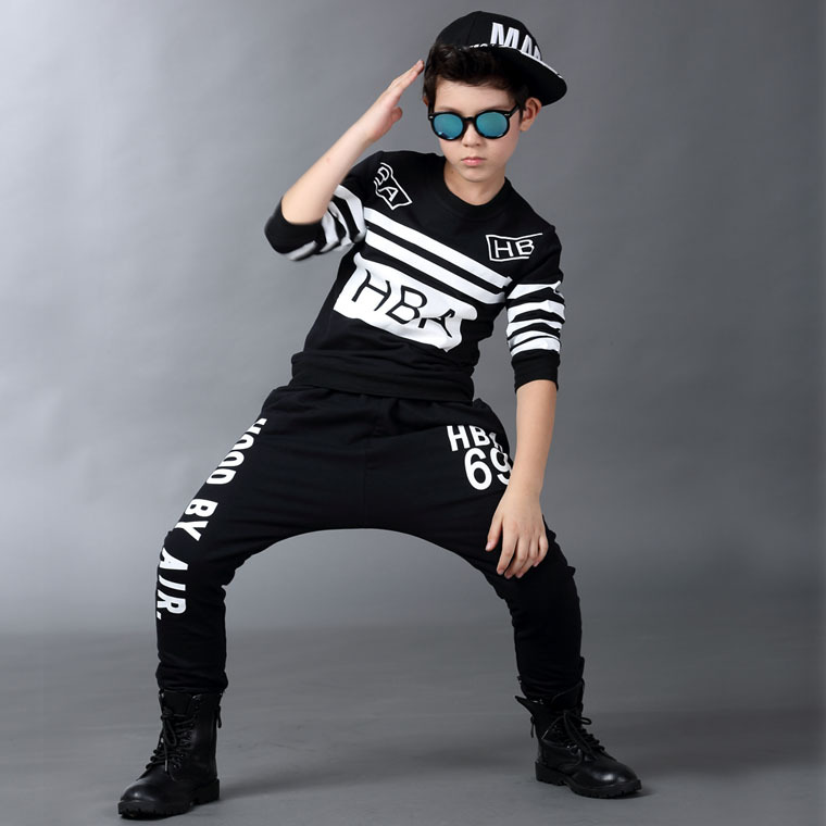New fashion Spring Autumn childrens clothing set streetwear Costumes kids sport suits Hip Hop harem pants &amp; sweatshirt<br><br>Aliexpress