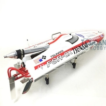 "Buy DT125 ARTR 49"" 30CC Gasoline Fiber Glass RC Racing Boat Deep-V Monohull for $379.90 in AliExpress store"
