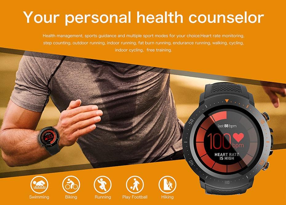 COLMI Flagship 4G Smart watch Android 7.1 OS MTK6739 1GB+16GB 400400 Display 530MAH IP67 waterproof GPS Men Smartwatch 10