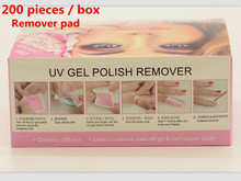 200 pieces / box remover pad liquid remover gel nail more environmental protection without damage to removal wraps nail polish
