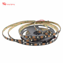 5M WS2812b 30leds/pixels/m Waterproof IP65 Flexible individually addressable LED Strip Light 5050 smd RGB dream color DC5V