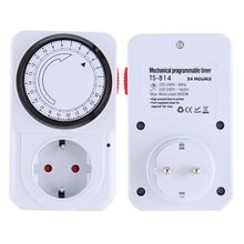 24 Hour Mechanical Electrical Plug Program Timer Power Switch Energy Saver New(China)