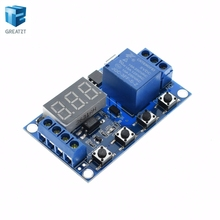 1 Channel 5V Relay Module Time Delay Relay Module Trigger OFF / ON Switch Timing Cycle 999 minutes for Arduino Relay Board Rele(China)