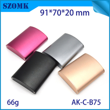 SZOMK Customized Extrusion Aluminum enclosure DIY Electrical Junction Box Case for Electronics Design PCB Hardware Device