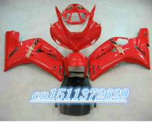 Dor-Hot Sales,03 04 zx-6r Bodykits Fairing For kawasaki Ninja ZX6R 2003 2004 Red Race Bike Motorcycle Fairings D(China)