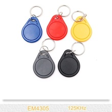 Buy 2PCS/lot Writable EM4305 Keyfobs 125Khz RFID Key Tags Token Keychain Access Control for $1.26 in AliExpress store