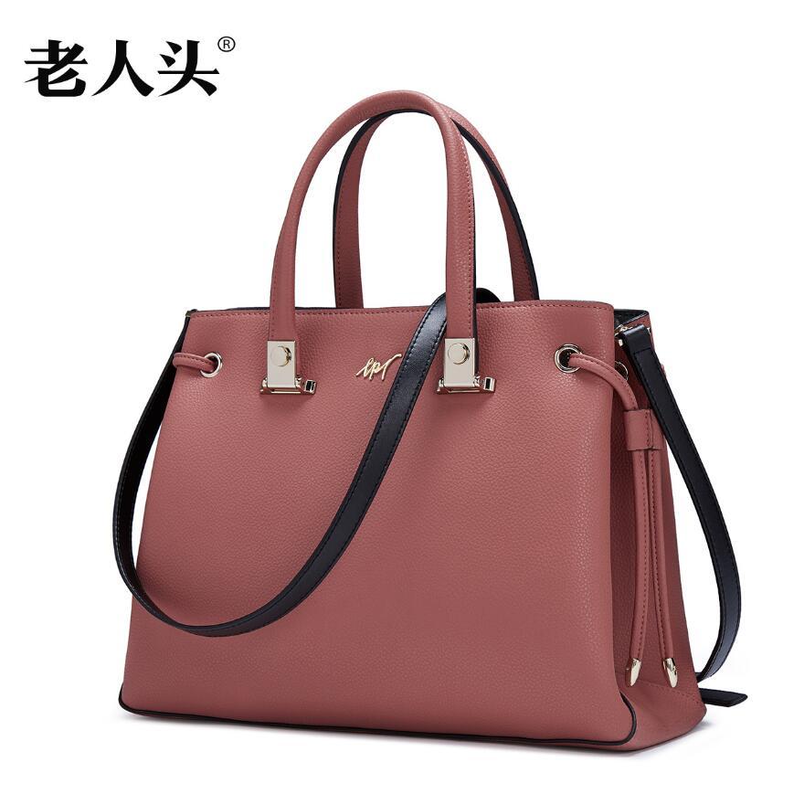 LAORENTOU New brand women genuine leather bag fashion quality women handbags shoulder bag leisure cowhide Killer bag<br><br>Aliexpress