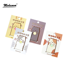 Creative Cute Cartoon Cats Dogs Animals Magnetic Metal Paper Clip Gift Bookmark For Kid School Office Supplies Stationery(China)