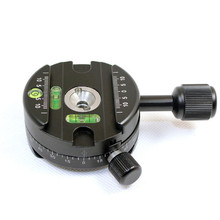 FITTEST Panning Clamp X-64 Quick Release Clamp With A QR Plate Panoramic Ball Head Arca SUNWAYFOTO RRS Panoramic Tripod