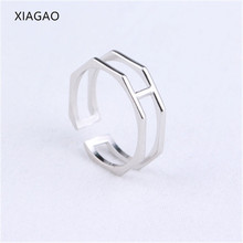 XIAGAO New Fashion Silver Open Ring Simple Design 925 Sterling Silver Rings for Women Ladies Retro Style Ring Anel Femme CNR239(China)
