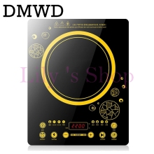 DMWD MINI electric magnetic Induction cooker touchpad 220V household waterproof small hot pot stove oven kitchen appliance EU US
