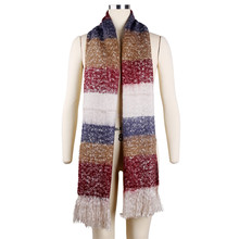 Women Winter Mohair Scarf Long Size Warm Fashion Scarves & Wraps For Lady Casual Soft Scarf Accessories 205*70cm AQ987003