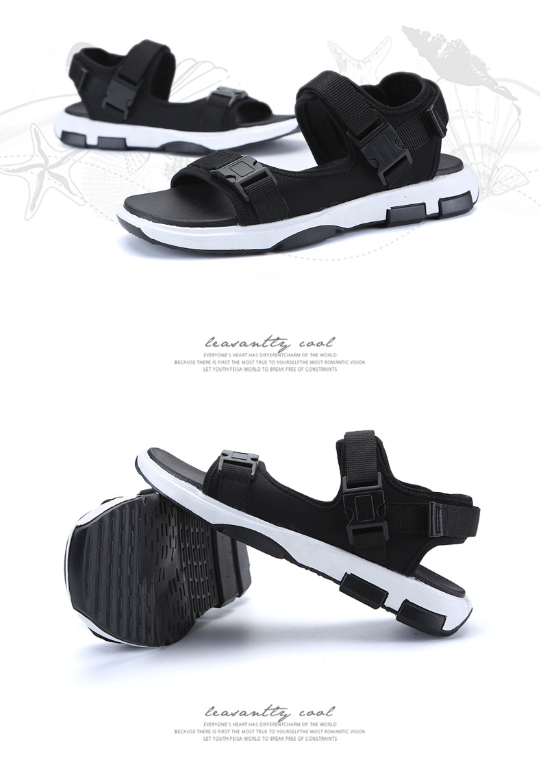 Summer Men Beach Sandals Fashion Breathable Walking Shoes Male Adult Comfortable Flat Sandals Outdoor Footwear Chaussures Homme 37 Online shopping Bangladesh
