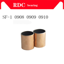 Buy Free Shipping SF-1 0908 0909 0910 Self Lubricating Composite Bearing Bushing Sleeve SF1 9mm x 11mm x 8mm 9mm 10mm