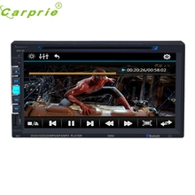 "New Arrival 7"" Touchscreen Bluetooth Car Stereo DVD/CD/MP3 Player Double 2Din In Dash USB SD dr15(China)"