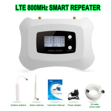 New sale mini LTE 4G mobile signal booster 4g repeater 800MHz cell phone cellular amplifier with LCD display with 70dBi gain