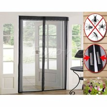 Magic Curtain Door Mesh Magnetic Hands Free Fly Mosquito Bug Insect Screen Hot C42