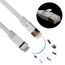 1m to 30m Durable High Speed RJ45 Ethernet Network Cable Cat7 High Speed LAN Cable Cord Lead For PC Laptop(China)