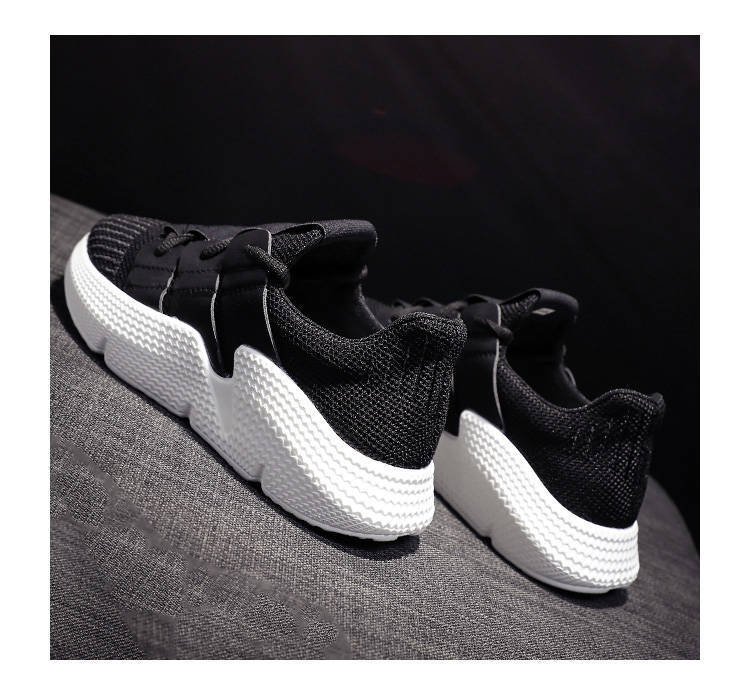 SWYIVY Platform Chunky Women Sneakers  2019 Spring New Casual Flat Canvas Shoes Female White/black Sneakers Women 35-41 Big Size