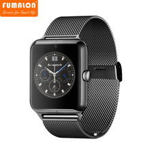 2017 Real Rushed Answer Call Fumalon Z50 Smart Watch Phone Bluetooth Mobile Support Sim Card Tf Smartwatch For And Smartphone
