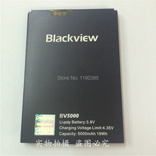 100% all original new battery Blackview BV5000 battery capacity 5000mAh Standby time is long Three large battery