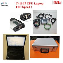 2016.12 MB star diagnosis sd connect 4 with laptop T410 I7CPU installed well with newest ssd software fast speed+mb star c4 case
