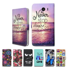100% Special Luxury PU Leather Flip Cartoon wallet case Book case for Kyocera DIGNO G(China)
