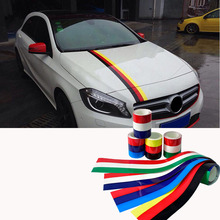 Vinyl Auto Stripes Sticker Flag Car Stickers For Audi A4 For BMW E46 E39 E60 E90 For VW Golf 4 5 6 7 mk2 mk3 mk4 mk7 grips clubs