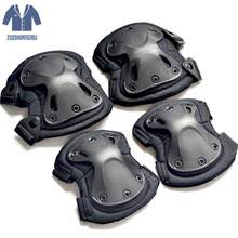 Military Tactical Knee Knee Pads For Sports Skates For Figure Skating On Ice Knee Pads Sport Knee Protector Salomon Speedcros(China)