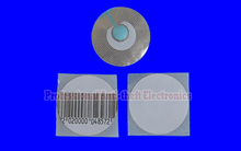 20000pcs/lot 8.2mhz round EAS rf soft label rounded rf security soft tags diameter R40mm free shipping(1 carton)