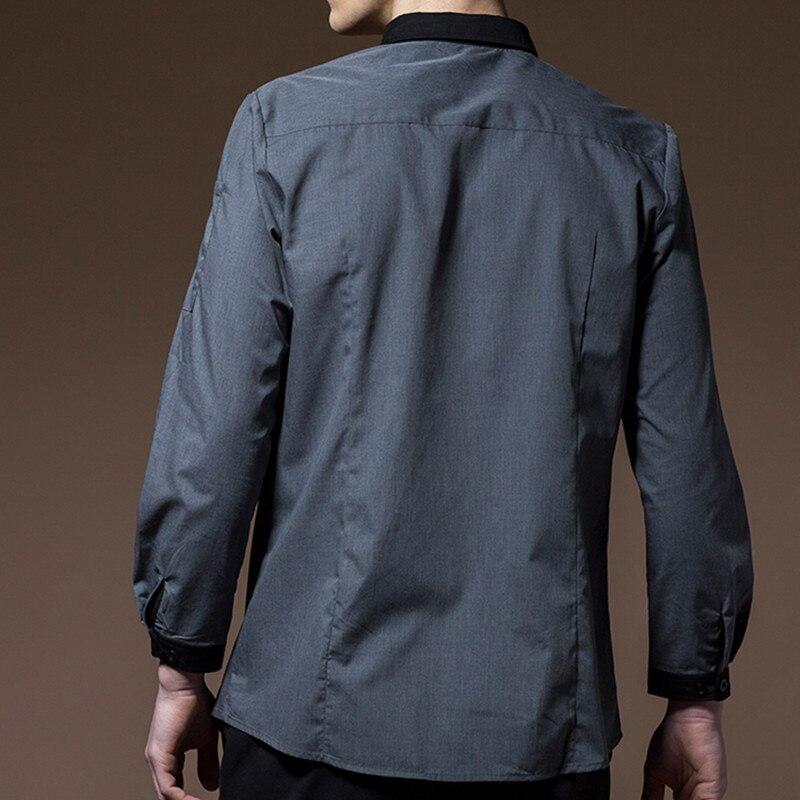 Long Sleeve Hospitality Work Wear D84-4