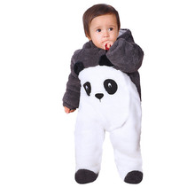 Warm Baby Rompers Boy Clothes Thicken Newborn Jumpsuits Girls Winter Coat Layette Overalls Next Snowsuit Baby Halloween Costume(China)