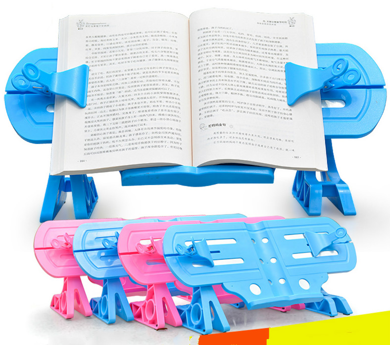 Multifunction Students Myopia Prevention Reading Bookshelf Bookend Document Holder Base Atril Para Ibros Bookmark Reading Frame<br>