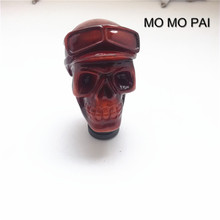 2017 new car modification MOMO PAI stand head / skull shift lever automotive styling / generic gear shift knob