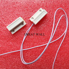 5pair MC-38 Wired Door Window Sensor 330mm Wire Lengthen Randomly Magnetic Switch Home Alarm System N.C Type(China)