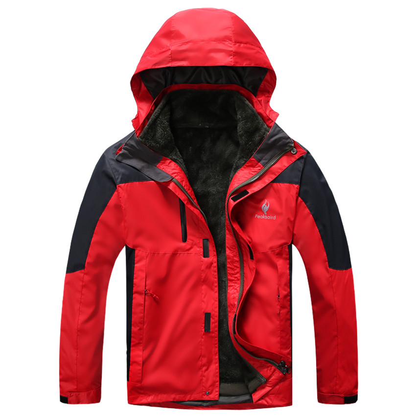 2016 new autumn mens outdoor sports winter jacket men camping mountaineering thick waterproof windproof coat free shipping<br><br>Aliexpress