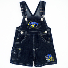 Rugby Pattern Random Color Baby Boys Girls Bib Jeans Jumpsuits Sling Pants Children Denim Overall Trousers Brand Kids Clothes