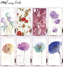 Hard Plastic&Soft TPU Phone Cases Sony Xperia Z1 L39H C6903 C6943 Back Cover Silicone Beautiful Flowers Luxury Style Shell - ShenZhen W&T Technology Co., LTD store