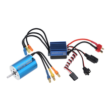 2838 3600KV 4P Sensorless Brushless Motor & 35A Brushless ESC Electronic Speed Controller for 1/14 1/16 1/18 RC Car(China)