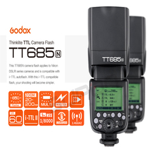 Buy Godox TT685 TT685N 2.4G HSS i-TTL GN60 Wireless Flash + X1T-N TTL Trigger Nikon D800 D700 D7100 D5200 D5100 D70S D810 D90 for $165.00 in AliExpress store