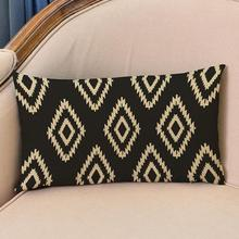 Modern Simplicity European Style  Stripe Geometry Patterns Decorative Pillow Cushion Factory Direct Sales