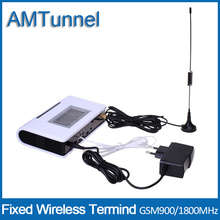 GSM FWT fixed wireless terminal with LCD screen for connecting desktop phone and PBX or PABX