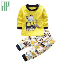 Kids clothes Spring toddler boy clothing set Long sleeve Top+Pants 2pcs suits boutique girls clothing Casual Tracksuit set(China)