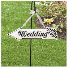 Wooden Wedding Sign Indicator Mini blackboard For Photo Props Wedding Party Home Decorations chalkboards/Message board