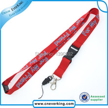 Free shipping 100 pcs/lot Custom cell phone lanyard for keychains wholesales