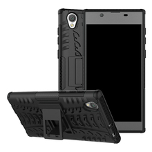 Buy Shockproof Hybrid Rugged TPU Armor Silicone Rubber Stand Hard Case Sony Xperia L1 G3311 G3312 G3313 Back Cover Case for $3.21 in AliExpress store