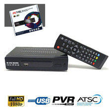 Canada DIGITAL TERRESTRIAL ATSC TV BOX 1080P HDMI (Digital/Analog) CONVERTOR RECEIVER HDTV NTIA Cert Without VHF UHF ANTENNA