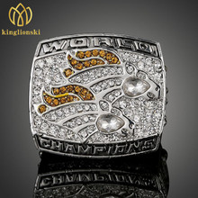 NFL Rugby Ring 1998 Super Bowl Denver Broncos Champion Ring High End Commemorative Rings for men and women